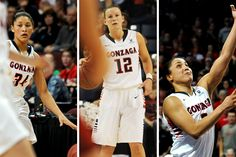 This year Gonzaga women's basketball has put together one of its strongest backcourts in program history . . . West Coast Conference Player of the Year Taelor Karr, WCC tournament MVP Haiden Palmer and WCC Defender of the Year Jazmine Redmon. And the character of each one of these student- athletes is every bit as strong as the mettle they exhibit on the court.