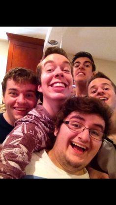 Cube House selfie