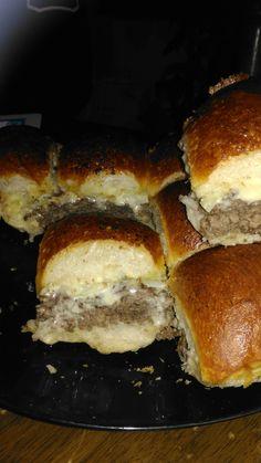 Cheese burger sliders