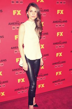 Keri Russell attend FX's The Americans Season One New York Premiere l