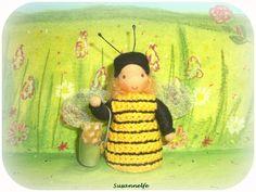 Biene Blumenkinder Jahreszeitentisch von Susannelfes Blumenkinder  auf DaWanda.com