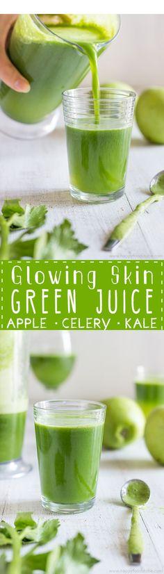 GLOWING SKIN GREEN JUICE – Lifee Too