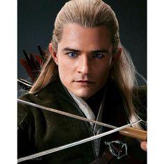 Kili Hobbit, Legolas And Thranduil, Hobbit Art, Fili And Kili, Aragorn, The Hobbit, Tolkien, Orlando Bloom Legolas, Lotr Elves