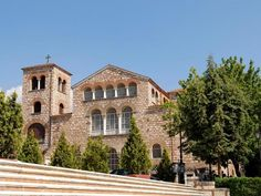 UNESCO Monuments Route Thessaloniki is an open Museum of Early Christian and Byzantine Art. In 1988 the UNESCO declared World Heritage Sites 15 of the. Byzantine Art, Early Christian, Thessaloniki, World Heritage Sites, Mosaic, Explore, Mansions, House Styles, City