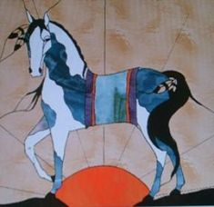 Gallery of Horses, stained glass horse patterns