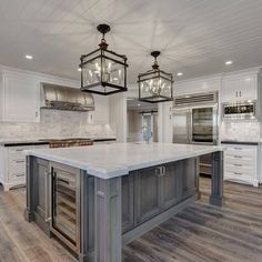 Kitchen Island Large Kids Appliances With Farmhouse Wine Fridge For Florida House