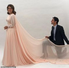 Princess Eugenie Glows in Never-Before-Seen Photo Shared by Reception Gown Designer Zac Posen Royal Wedding Gowns, Second Wedding Dresses, Second Weddings, Royal Weddings, Wedding Outfits, Zac Posen, Windsor, Eugenie Wedding, Pictures Of Princesses