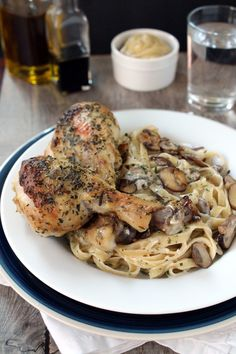 The Stay At Home Chef: Tarragon-Dijon Roasted Chicken with Tarragon ...