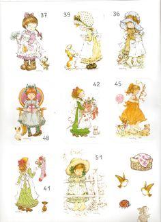 Sarah Kay, Mary May, Pretty Images, Holly Hobbie, Copic, Vintage Cards, Paper Dolls, Maya, Illustration