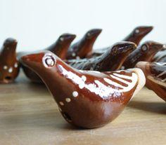 Fluierici ceramic de Oboga