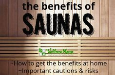 There are many well-documented benefits of sauna use, including cardiovascular benefits, improved skin and even weight loss. Infrared saunas may offer additional benefits! Health And Nutrition, Health And Wellness, Health And Beauty, Mental Health, Holistic Healing, Natural Healing, Natural Life, Natural Living, Alternative Health