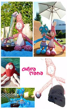 watch out! here comes Chicamama :) Softies, Dolls For Boys