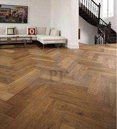 Richmond Engineered Herringbone Click Parquet Oak 148mm x 15mm Fumed Oiled Wood Flooring Only £42 On http://bit.ly/1MtksBK
