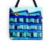The New Bendigo Bank Building at Sunrise - Bendigo, Victoria Tote Bag