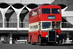 PMT Leyland OPD2 at The old Hanley Bus Station
