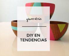 DIY: Figuras geométricas en tendencia