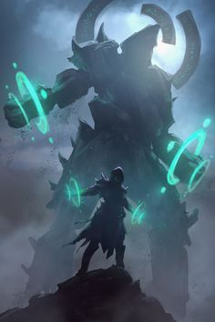 Master of Golems by mikrob on deviantART