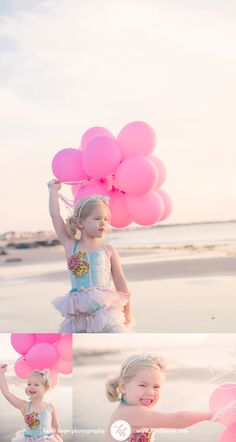girl with balloons Birthday At The Beach, Little Girl Birthday, Bday Girl, Toddler Poses, Toddler Beach, Its A Girl Balloons, Gold Balloons, Family Beach Pictures, Beach Photos