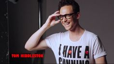Tom Hiddleston supports the Red Nose Day in support for Africa