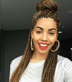 Gorgeous Box Braids...See How to Care For Your Hair While Wearing Box Braids Here: http://www.naturalhairmag.com/moisturize-and-seal-box-braids-twists/ IG:@flyingwithpurpose #naturalhairmag