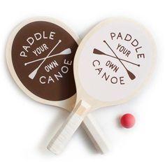 """Paddle Your Own Canoe"" Paddle Ball Set"