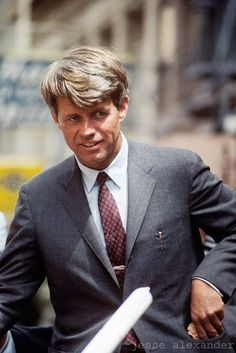 "Robert F. ""Bobby"" Kennedy (November 20, 1935 - June 6, 1968). #RFK"