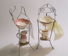 Miniatures wash bowl and pitcher...