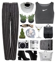 """""""Shara"""" by etheras ❤ liked on Polyvore featuring Balenciaga, NIKE, Threshold, Alexander Wang, Urban Trends Collection, Fuji, Nordstrom, Kosta Boda, H&M and Aesop"""