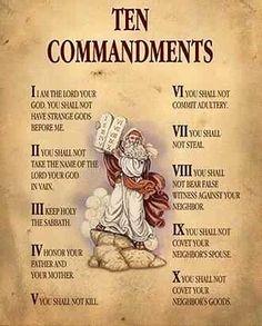 Ten Comandments