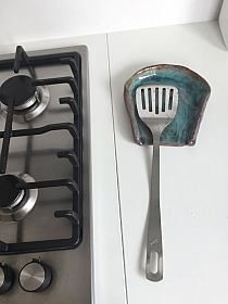 Large Green Leaf Self Draining Soap Dish Slab Pottery, Ceramic Pottery, Pottery Art, Ceramic Tableware, Ceramic Clay, Ceramic Spoons, Diy Clay, Clay Crafts, Keramik Design