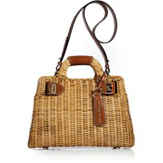 FERRAGAMO Straw Bag.