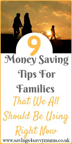 9 money saving tips for families that we all should be using right now plus money saving prinatables by Laura at Savings 4 Savvy Mums. #MoneySavingTips #SavingTipsforFamilies #SavingTips