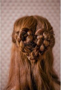 heartshaped braid for vday