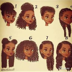 Natural hair tips