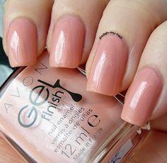 Avon Gel Finish Dazzle Pink