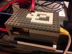 cubieboard in lego bricks with sata hdd