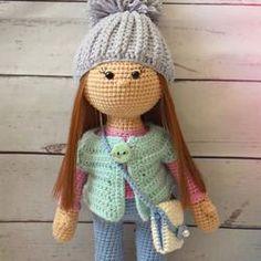 Molly doll crochet pattern - printable PDF