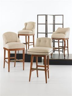 Vanguard Furniture: Room Scene PERSBARSTOOLS_RS_1_revised