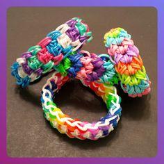 "My New Reversible ""Kabuto"" Rainbow Loom Bracelet/How To Tutorial by Loves2Loom"
