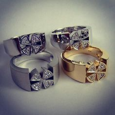 "Our original ring named ""Four Radian"""