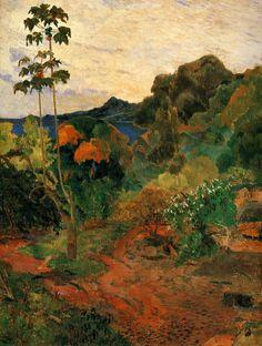 Paul Gaugin, Vegetation Tropicale