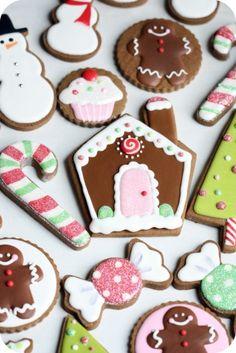 home.made:. {} Domingo Spotlight Galletas de Navidad!