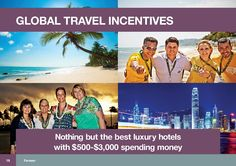 2 free global trips per year – these are trips fully paid for by the company including spending money, this year its London and Lake Tahoe (California) and next year its Singapore and Cancun (Mexico)