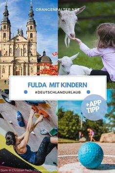 Die Barockstadt #Fulda bietet vielfältige Möglichkeiten, um mit Kindern aktiv zu werden. Wir stellen euch 7 #Ausflugsziele vor, bei denen für jedes Wetter und jeden Geschmack etwas dabei ist.