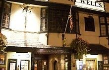 The Crown at Wells, Somerset, Wells #travelinspiration