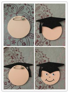 This Pin was discovered by Esr Graduation Crafts, Pre K Graduation, Preschool Graduation, Graduation Decorations, Graduation Party Decor, School Decorations, Graduation Photos, Foam Crafts, Diy Arts And Crafts