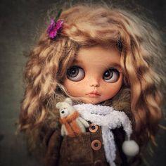 Blythe Doll  Fashionable Fabric Dress Decorative Toy Pretty