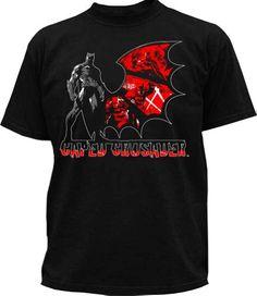 DC Comics - Camiseta de Batman para hombre, talla 2XL, color Negro #camiseta #realidadaumentada #ideas #regalo