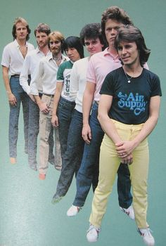 Air Supply the Orginal members Best Classic Rock, 1970s Bands, Nice Person, Air Supply, Mom And Sister, Music Bands, Graham Russell, Singers, Nostalgia