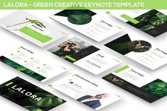 Lalora - Green Keynote Template Get it now! a Creative Layout Template for your Business presentation, suitable for anykind purpose especially for Green Bu Presentation Design Template, Business Presentation, Layout Template, Design Templates, Business Brochure, Business Card Logo, Free Keynote Template, Envato Elements, Green Business